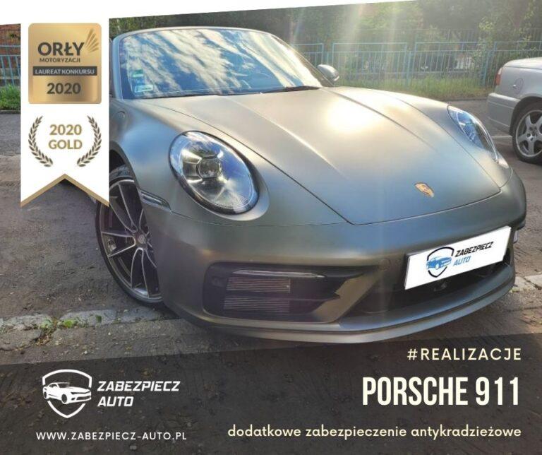 Porsche 911 - Dodatkowe Zabezpieczenie Antykradzieżowe CanLock